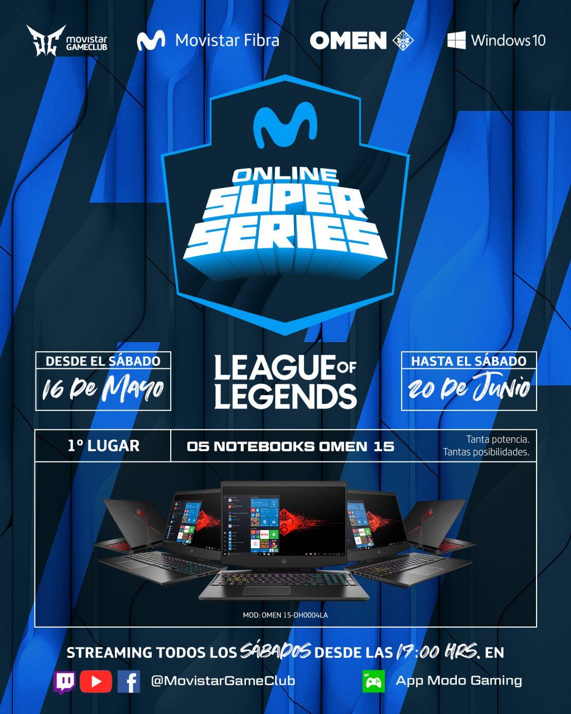 """Con los equipos """"Rebirth"""", """"Católica eSports"""", """"Furious Gaming"""" y """"Azules eSports"""": el sábado comienza el torneo de League of Legends """"Movistar OSS"""""""