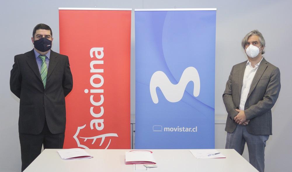 Movistar Chile transformará gran parte de su suministro eléctrico en renovable de la mano de ACCIONA