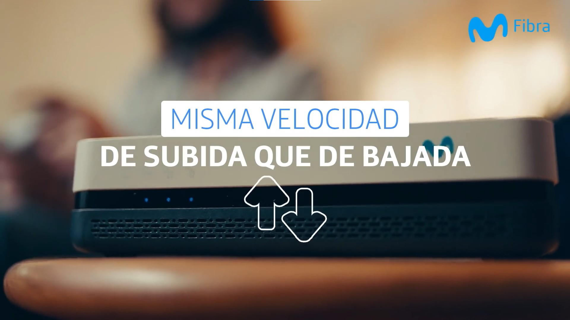Movistar Chile entrega internet simétrico a todos sus clientes de fibra óptica sin costo y para siempre